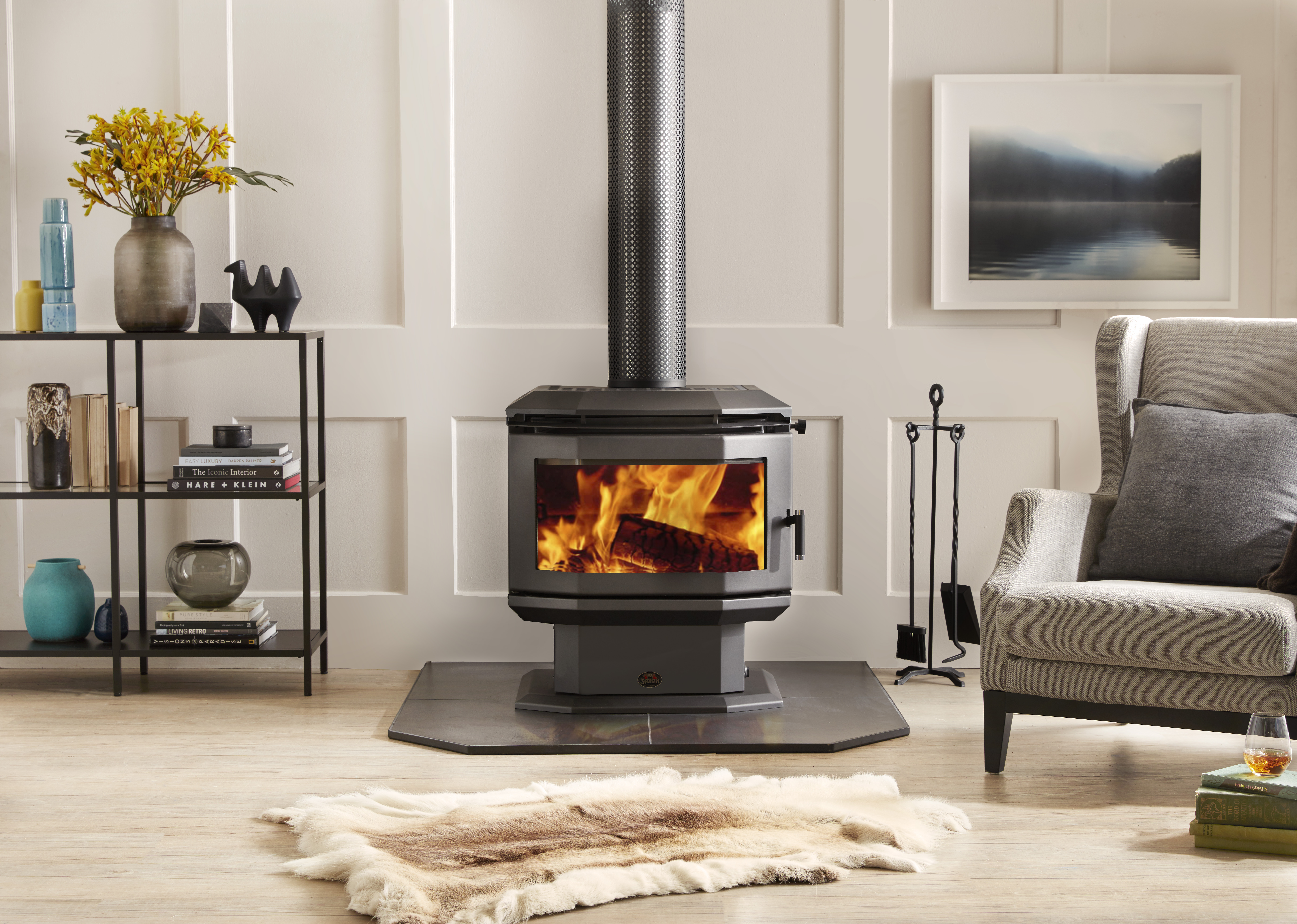 Rosewood 3225 The Freestanding Wood Heater